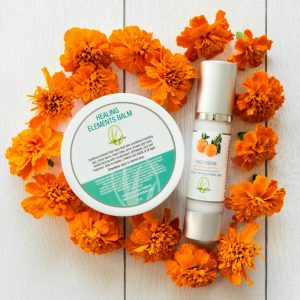 products with calendula